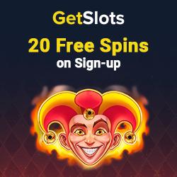 GetSlots Casino 20 ingyenes pörgetés